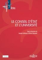 """""""Les Grands arrêts de la jurisprudence administrative"""" in : Caillosse (Jacques) et Renaudie (Olivier), Le Conseil d'Etat et l'Université, Paris, Dalloz, 2015, pp. 163-177."""
