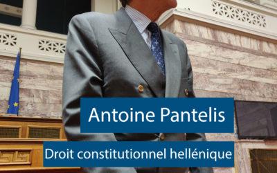 Konferenz des Professors, Antoine Pantelis 20 november 2019